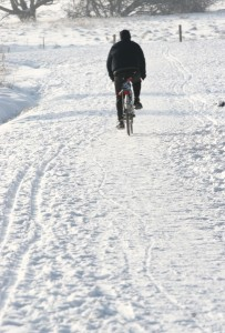 -bike-on-snow