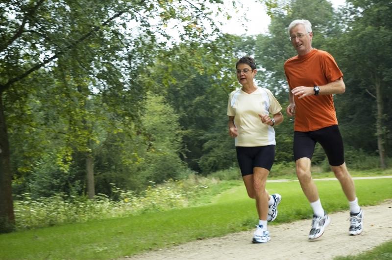 Springande seniorer