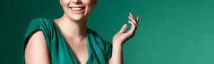 curvy woman green bigger_429079276